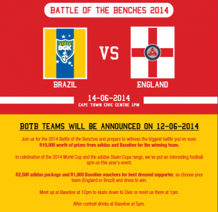 adidas: Battle of the Benches 2014