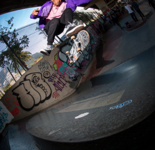 Converse Cons – 'Purple' Premieres & Best Trick Jams